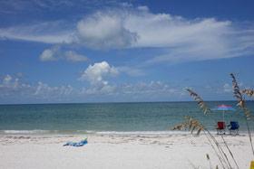 Praia descalça