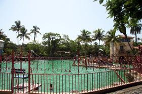 Take a bath in the Venetian Pool