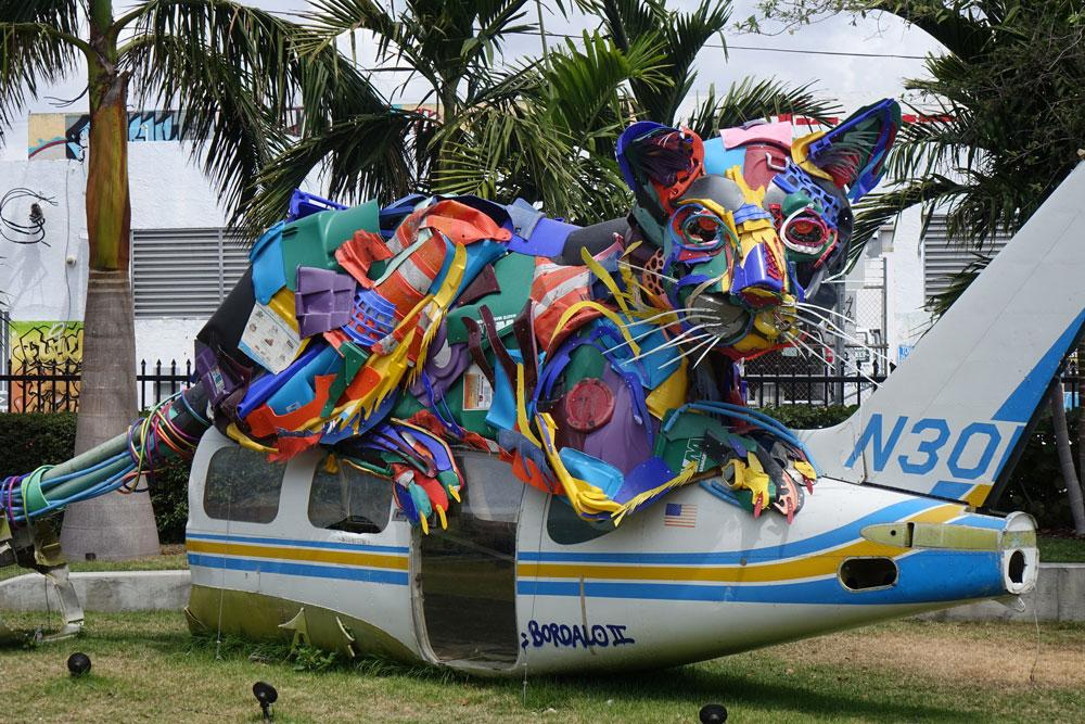 Искусство Майами-стрит на стенах Уинвуда